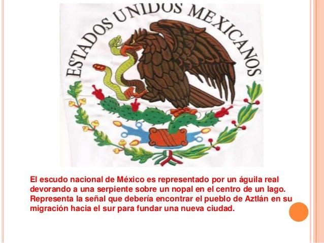 que son los simbolos patrios mexicanos