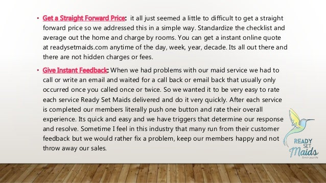 • Get a Straight Forward Price: it all just seemed a little to difficult to get a straight forward price so we addressed t...