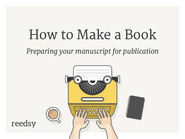 how to make a publication