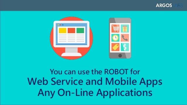 ARGOS UX ROBOT: APM/EUM solution Slide 3