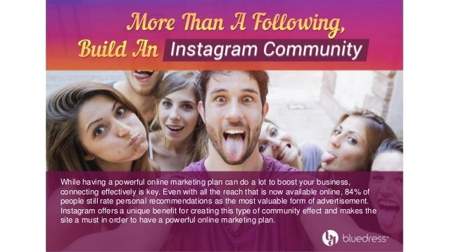 how to build an instagram following from scratch