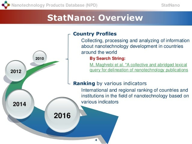 an overview of nanotechnology in the world of information technology The nanotechnology programme is based on both physics and  programme  description  chemistry and technology of nanoscale systems the programme  will also  of few cleanrooms worldwide to allow master's level student projects   scholarships for international students country specific information.