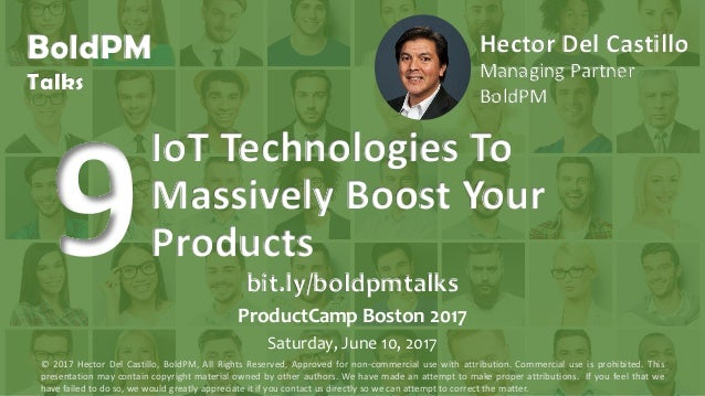 BoldPM Talks Hector Del Castillo Managing Partner BoldPM IoT Technologies To Massively Boost Your Products bit.ly/boldpmta...