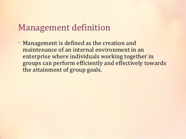 Planning Organising Staffing Directing How to manage work in organisation Controlling