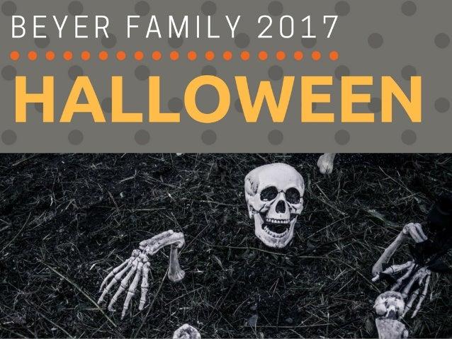 Beyer Family  Halloween 2017