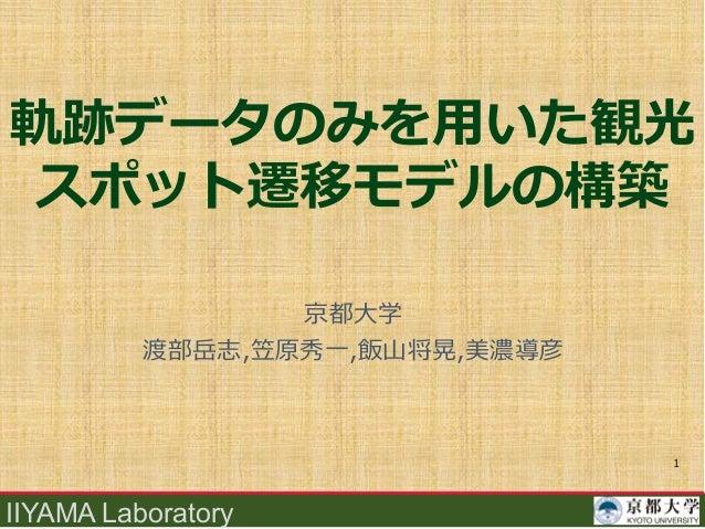 IIYAMA Laboratory , 1