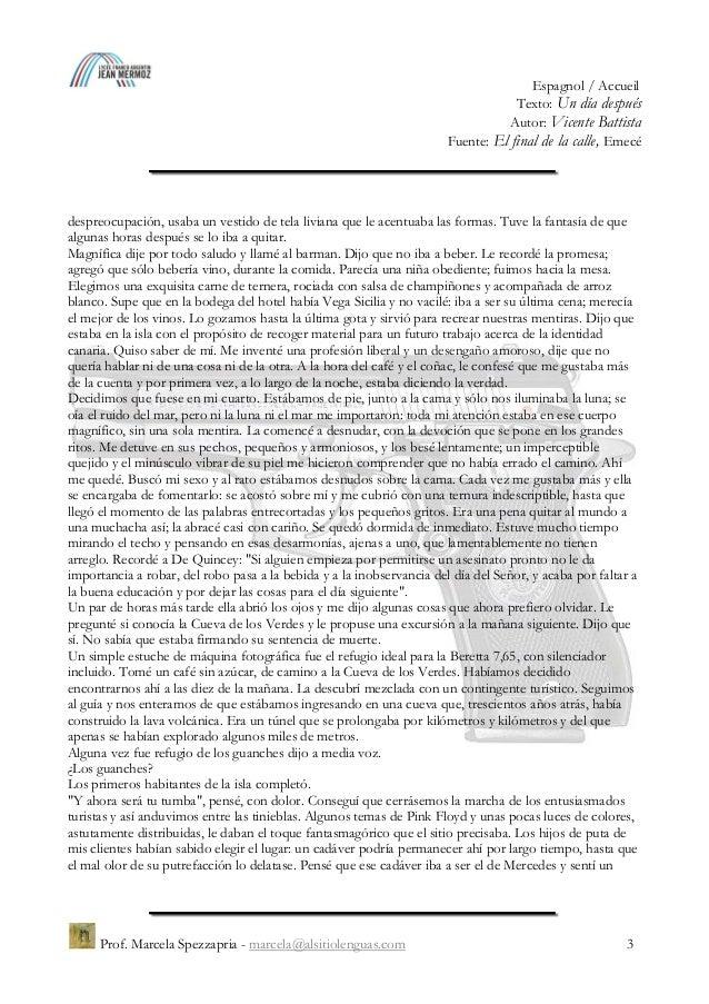 """""""Un día después"""", Vicente Battista Slide 3"""