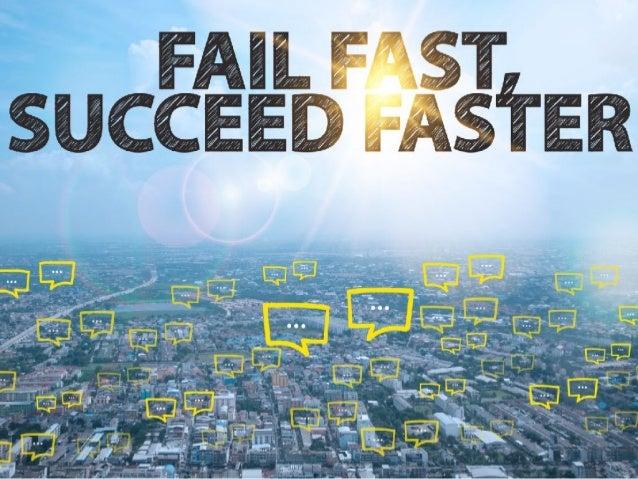 成功の秘訣は、早くたくさん失敗すること
