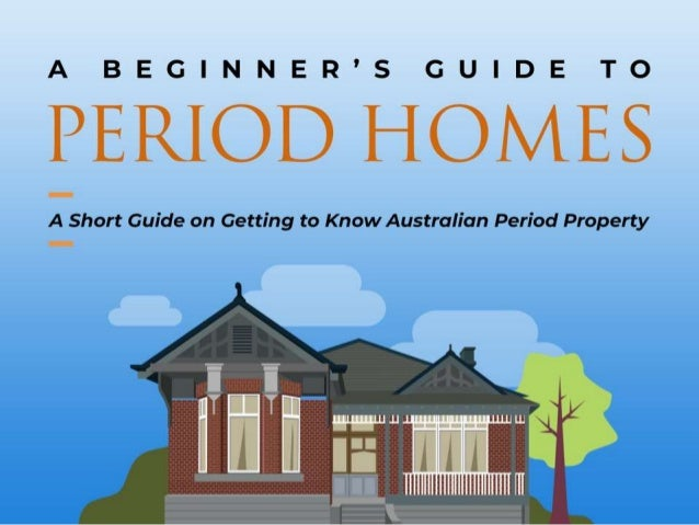 Are you the new owner of a period home, or are you thinking of renovating one? Before you make decisions, it's important t...
