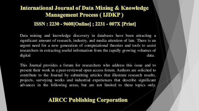 Data mining and knowledge discovery in databases have been attracting a significant amount of research, industry, and medi...