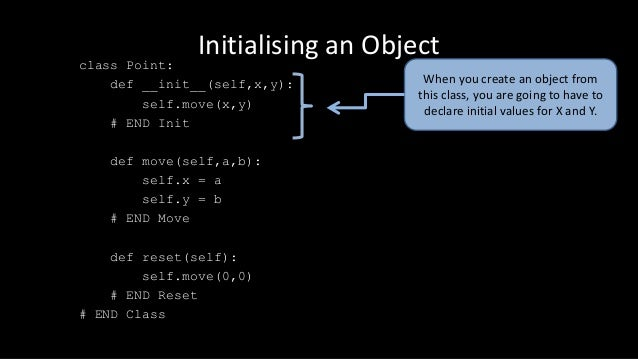 Creating Objects in Python