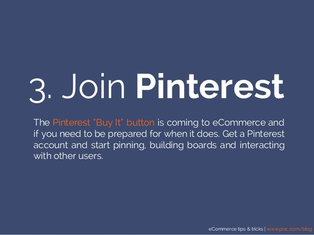 """eCommerce tips & tricks 