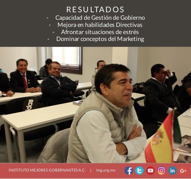 Seminario 'Gestión de Gobierno y Consultoría Política' Slide 3