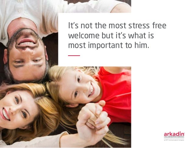 It's not the most stress free welcome but it's what is most important to him.