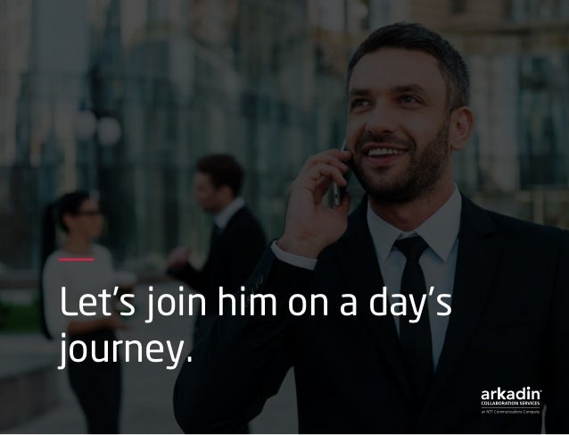 Let's join him on a day's journey.