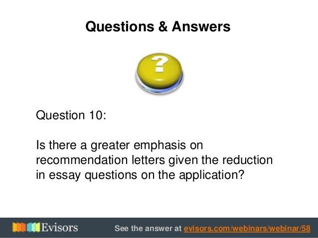 harvard essay questions