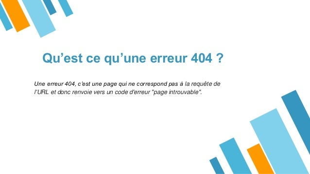 Comment corriger les erreurs 404 - Agence CSV Slide 3