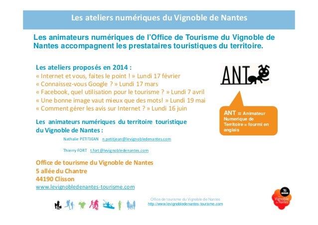Atelier 4 image le vignoble de nantes tourisme - Office de tourisme de clisson ...