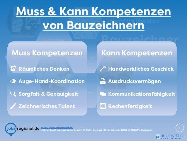 Bauzeichner - Jobprofil im Überblick Slide 3