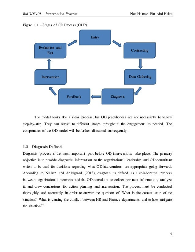 Role analysis intervention in organization development