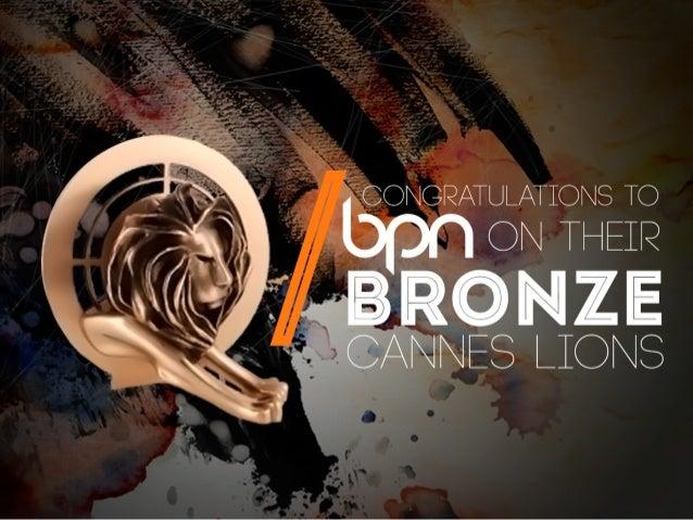 BPN Cannes Lions Playlist 2014
