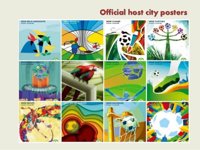 Official host city posters