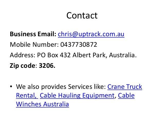 Winch Hire Australia - CablehandlingMelbourne