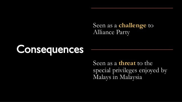 Reasons for the separation of singapore from malaysia