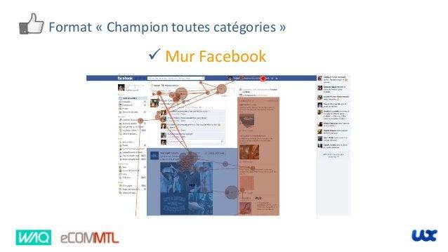 Format « Champion toutes catégories »  Mur Facebook