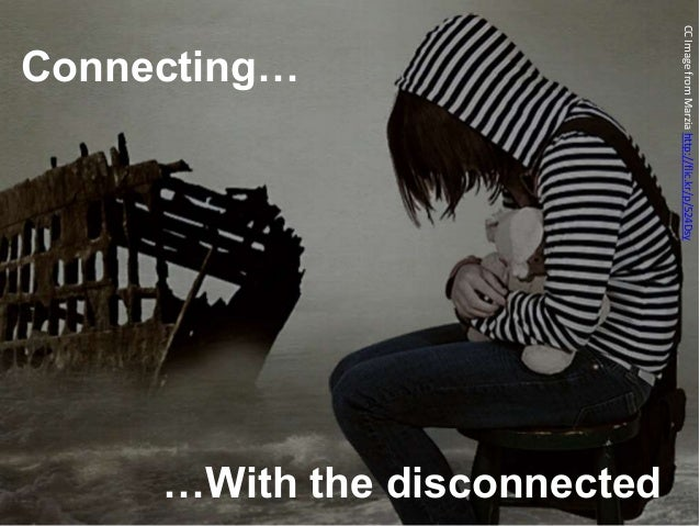 Connecting… …With the disconnected CCImagefromMarziahttp://flic.kr/p/524Dsy