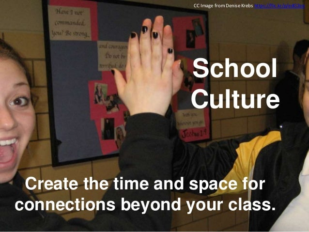 Create ways for new students to connect with each other and to the school