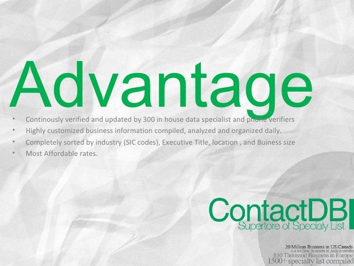 ContactDB Slide 3