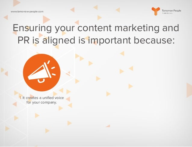 Creating a Unified PR Strategy Slide 2
