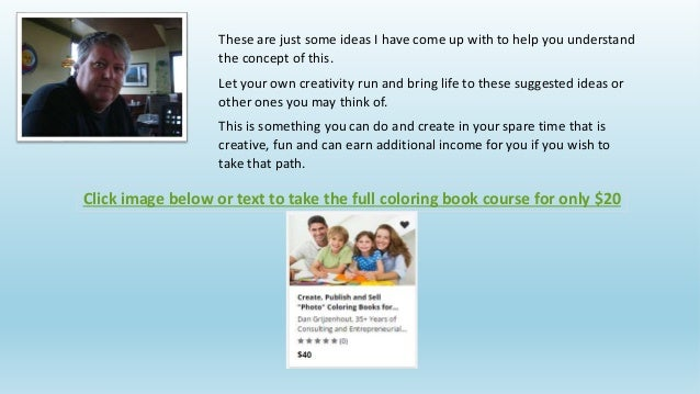 6 - Publish Your Own Coloring Book
