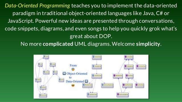 Data-Oriented Programming: making data a first-class citizen Slide 3