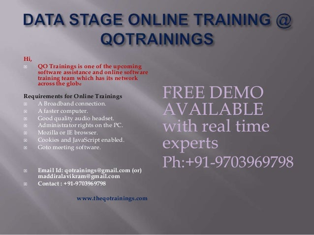 Hi, QO Trainings is one of the upcomingsoftware assistance and online softwaretraining team which has its networkacross t...