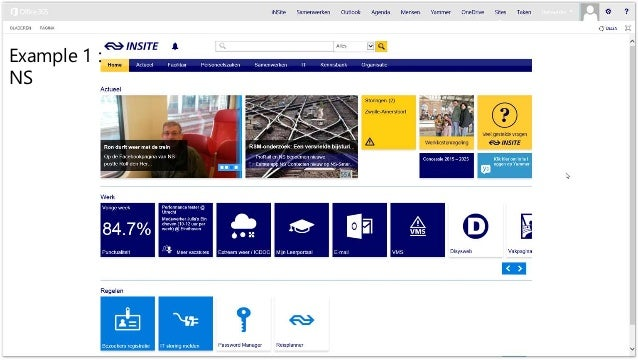 example 1 sharepoint design ideas - Intranet Design Ideas