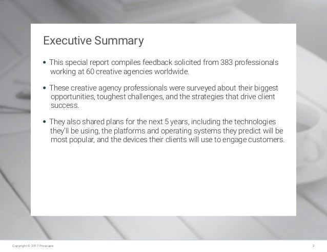 Digital Perspectives from the Creative Agency Front Lines Slide 2