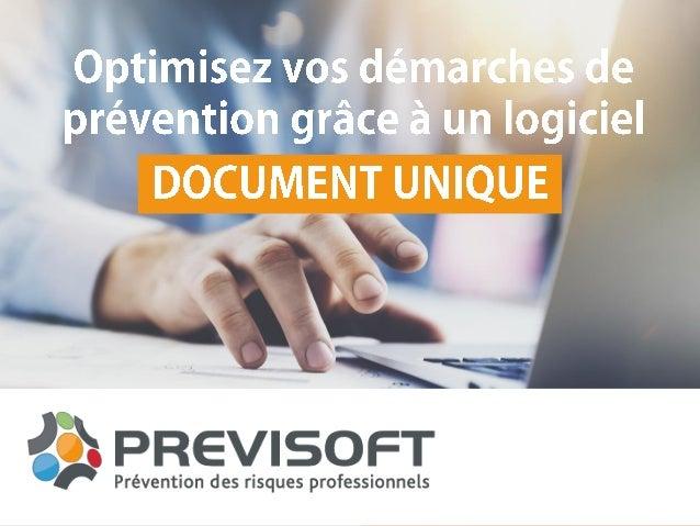 previsoft document unique gratuit