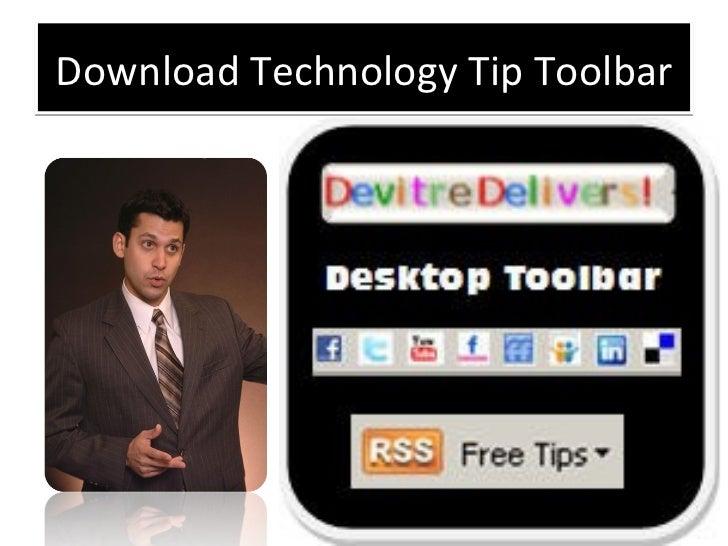 Download Technology Tip Toolbar