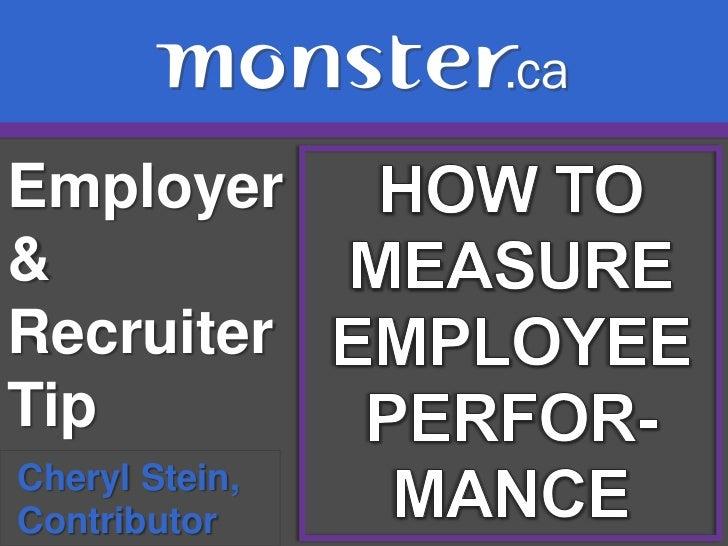 Employer&RecruiterTipCheryl Stein,Contributor
