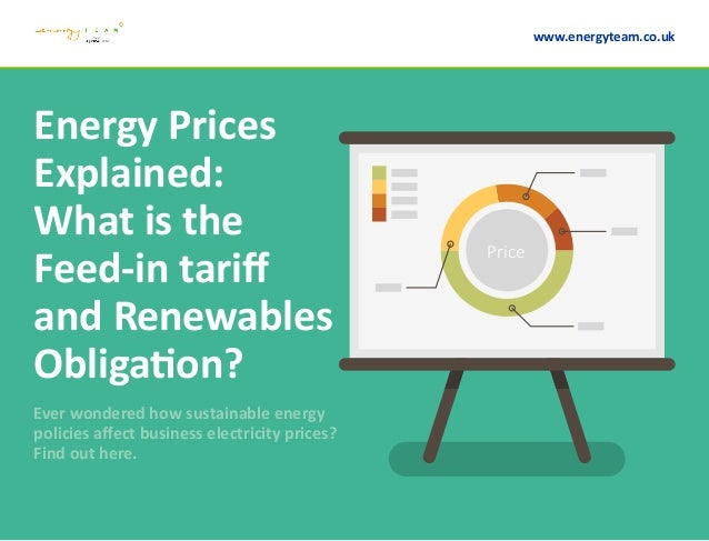 Energy Prices Explained: What is the Feed-in tariff and Renewables Obligation? Ever wondered how sustainable energy polici...