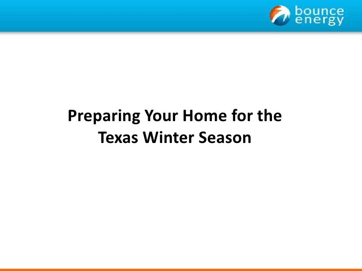 Preparing Your Home for the Texas Winter Season<br />