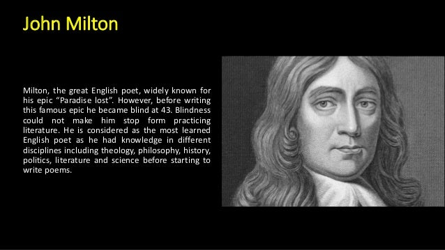 a prose analysis on john miltons sonnet xix In this lesson, you will learn what john milton's poem 'on his blindness' is about, its major theme, and how to analyze its features in terms of.