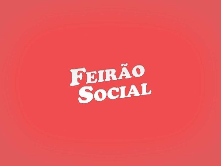 Startup Farm BSB Demo Day - Feirão Social (2o lugar)