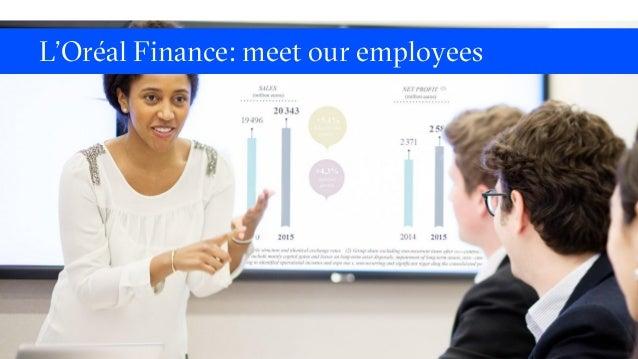 L'Oréal Finance: meet our employees