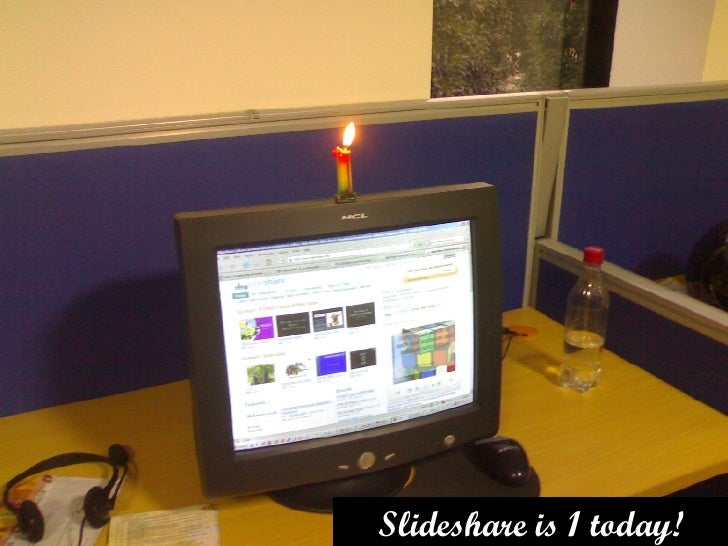 Slideshare is 1 today!