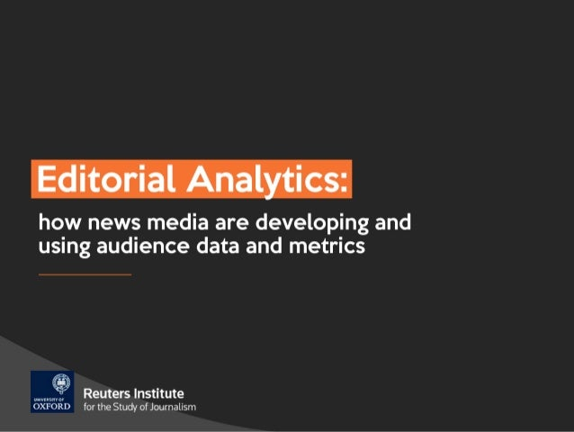 Editorial analytics – turning insights into action