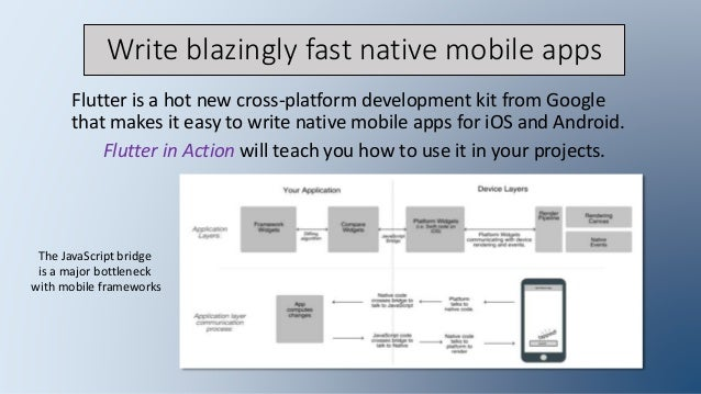 Flutter in Action: awesome cross-platform apps with Flutter Slide 2