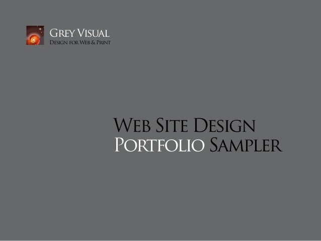 Grey VisualDesign for Web & Print